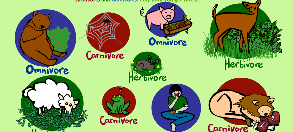 Carnivores Herbivores Omnivores Ms Ws Wild Ride through 2nd – Herbivore Carnivore Omnivore Worksheet